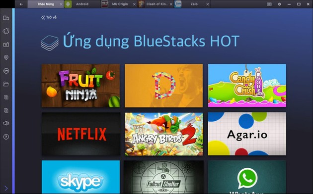 Game thủ lợi dụng BlueStacks 2 để hack game Clash of Clans